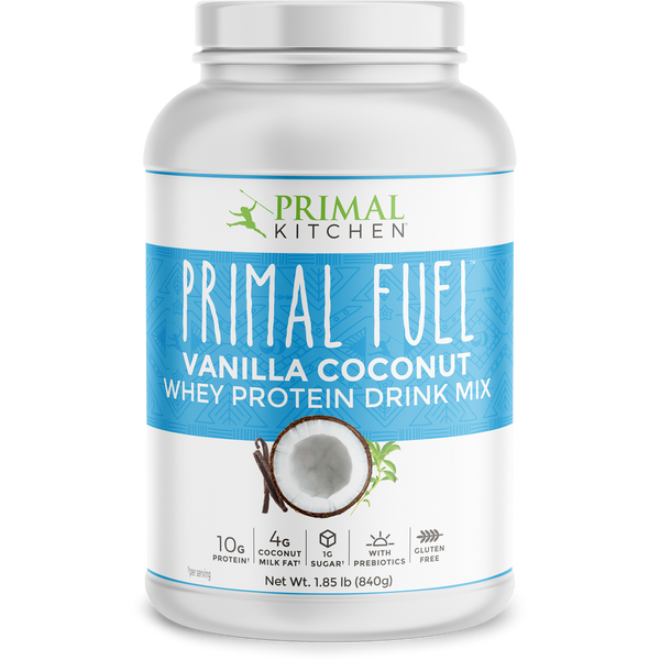 What's Inside Primal Fuel: Vanilla Coconut Whey Protein Drink Mix