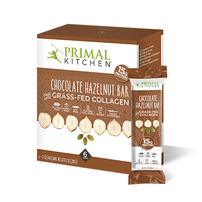 What's Inside Chocolate Hazelnut Collagen Protein Bar