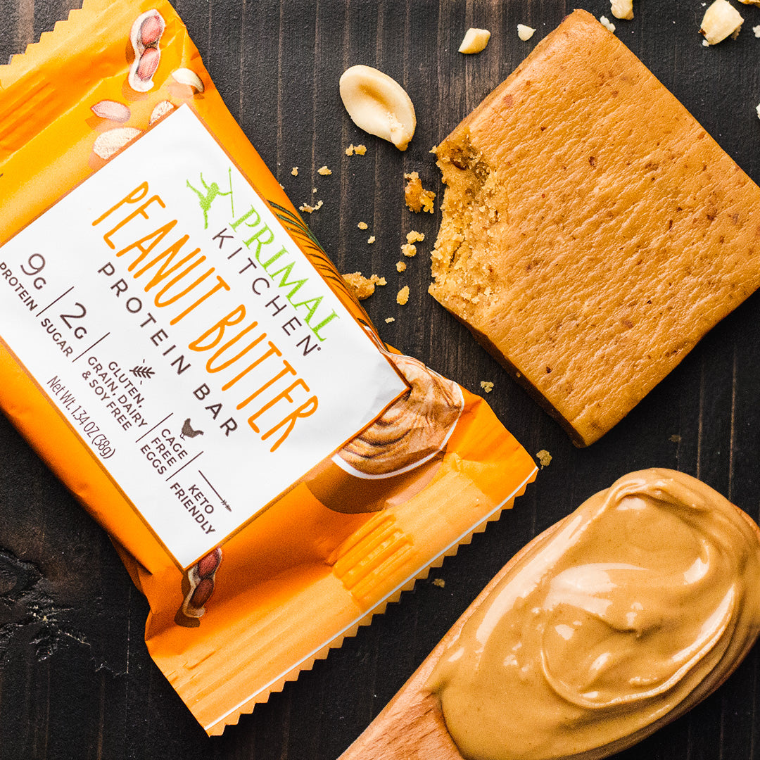 Free Peanut Butter Protein Bars!