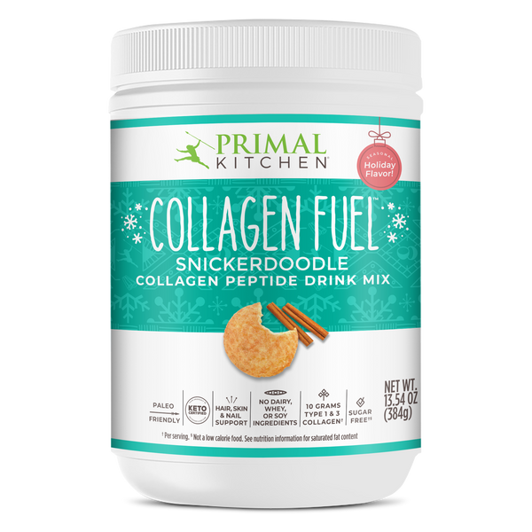 What's Inside COLLAGEN FUEL® Drink Mix - Snickerdoodle