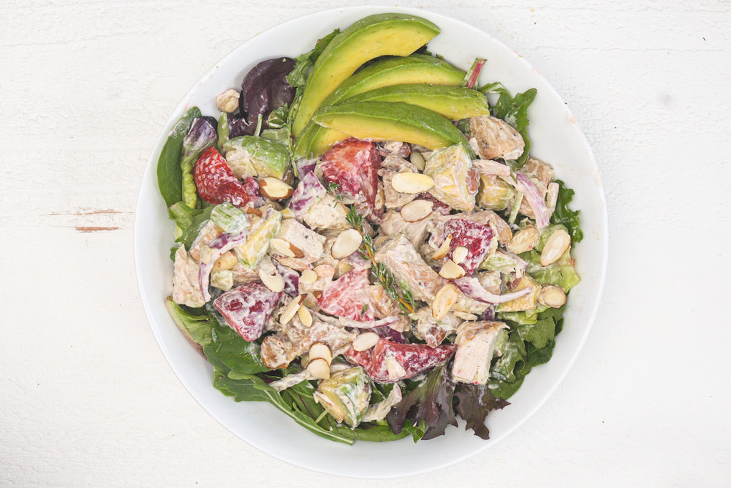 Keto & Whole30 Strawberry Chicken Salad