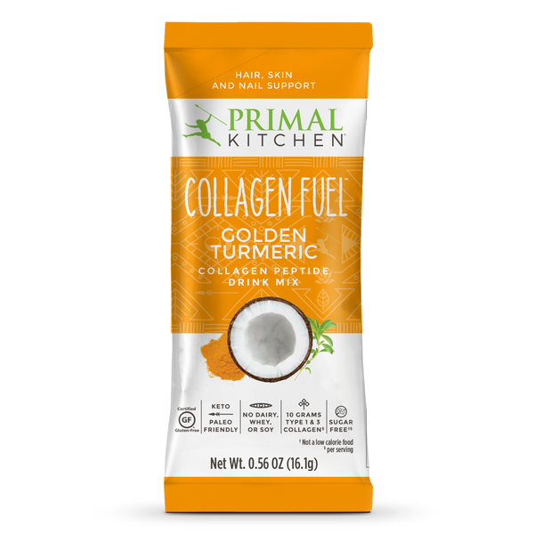 What's Inside Golden Turmeric COLLAGEN FUEL® Drink Mix Packets — 12 Count