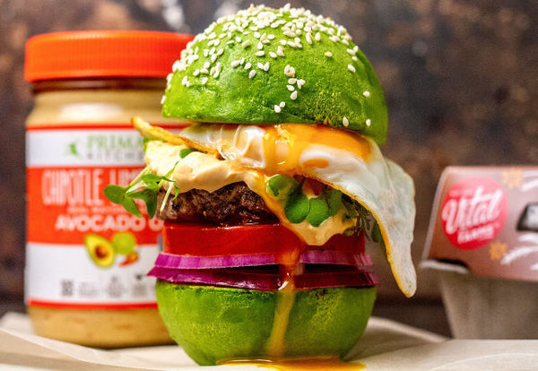 Avocado Egg Burger Recipe
