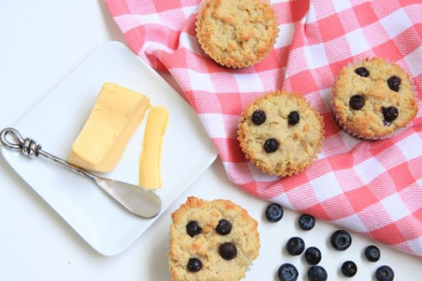 Keto Blueberry Muffins Recipe
