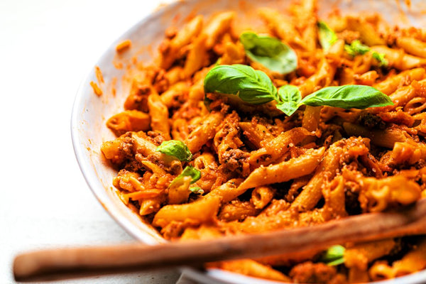 One-Pot No-Dairy Pasta with Meat Sauce