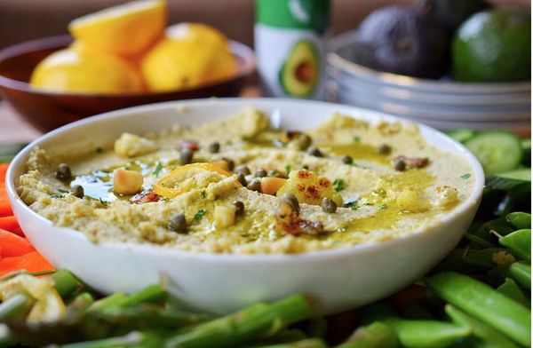 Cauliflower and Macadamia Nut Hummus