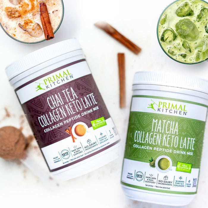 Primal Kitchen Collagen Keto Latte Drink Mixes