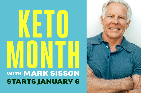 One month of FREE exclusive email content from Mark Sisson. Learn how to optimize fat burning and get the results you've always wanted with Mark's advice. Daily challenges and emails starting January 6 will keep you motivated and on track. No purchase necessary to join.