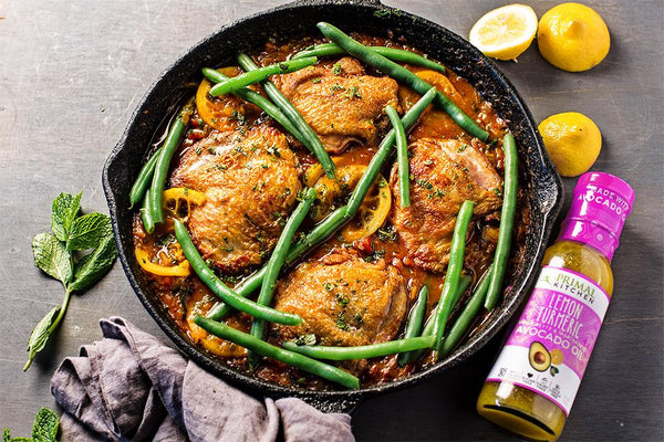 Moroccan Chicken with Green Beans Recipe