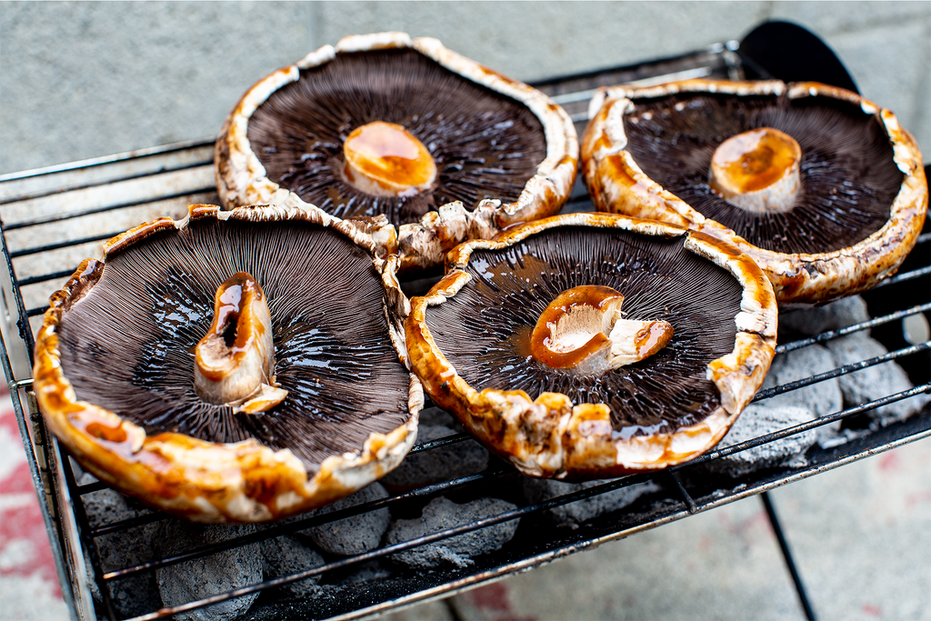 3-Ingredient Grilled Portobello Mushrooms