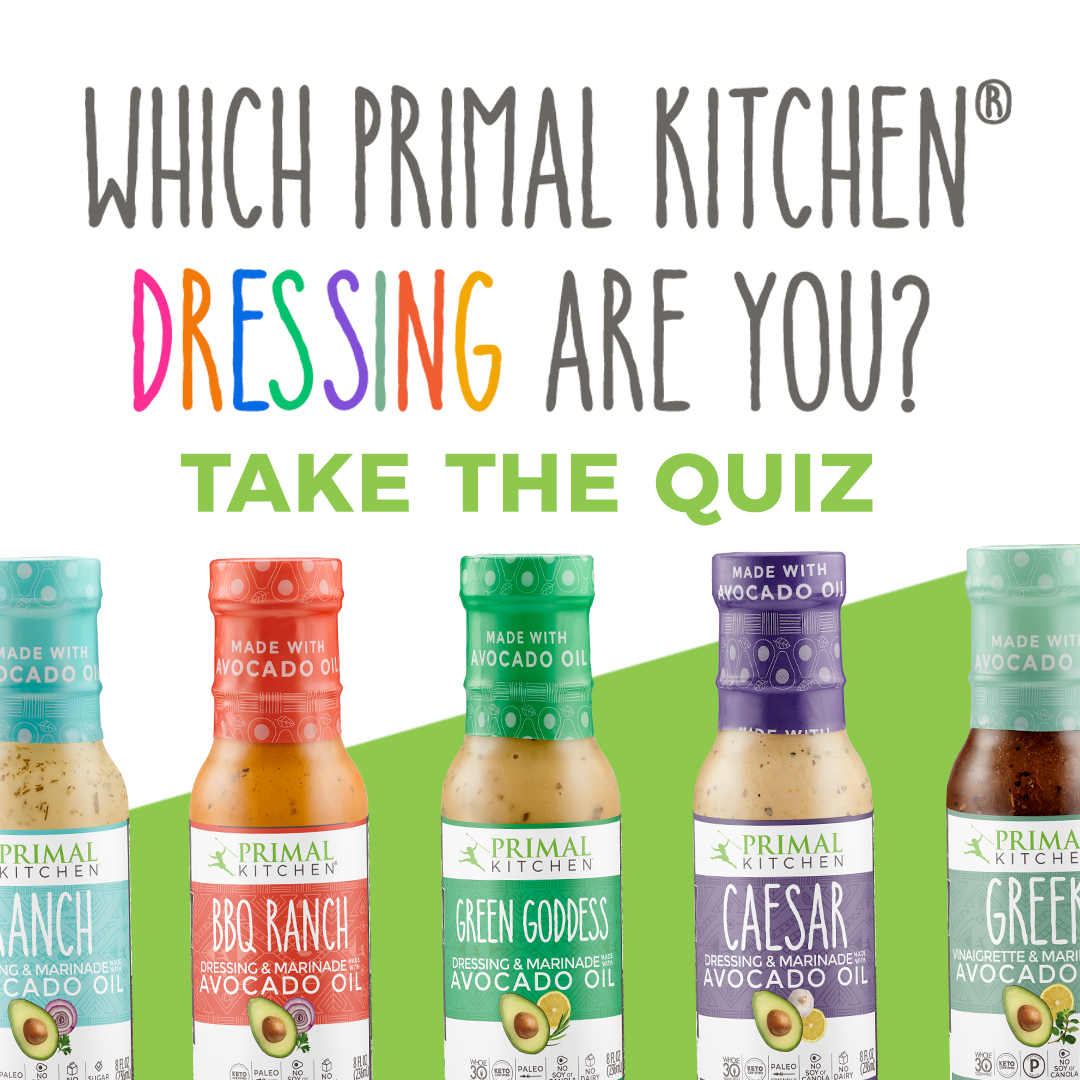 Which dressing are you?