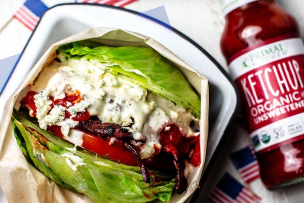 Red, White, and Blue Burger