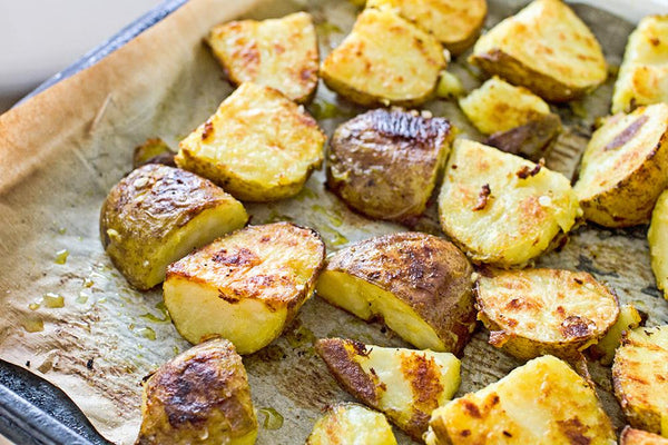 Lemon Turmeric Roasted Potatoes