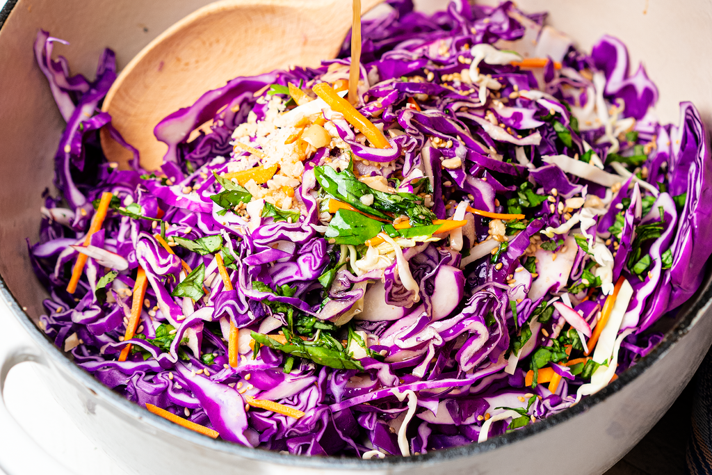 5-Minute No Cook Asian Slaw Recipe
