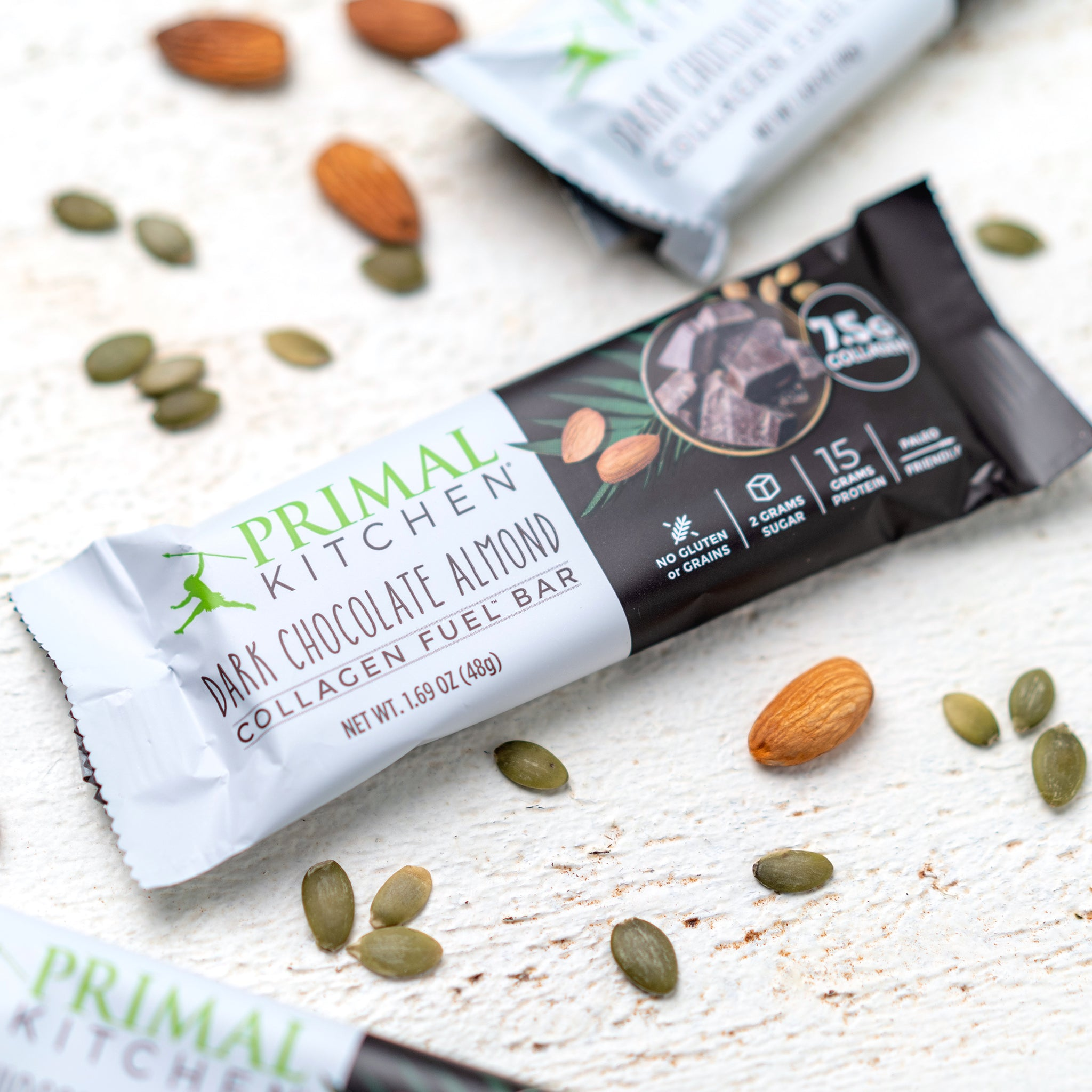 Free Dark Chocolate Almond Collagen Fuel Bars
