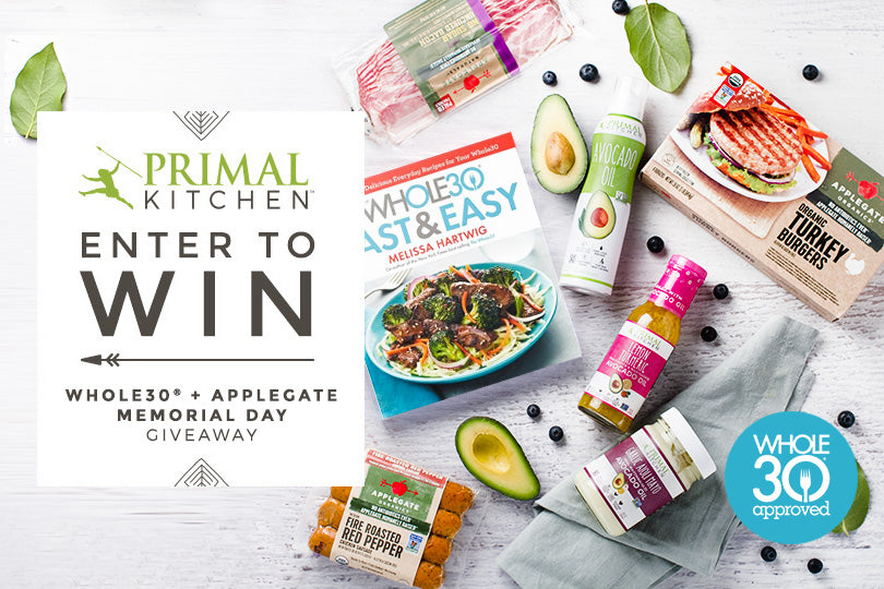 Win Whole30 BBQ Essentials from Primal Kitchen and Applegate