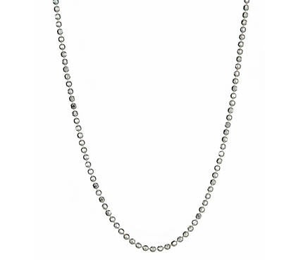 Gold Ball Chain Diamond Cut