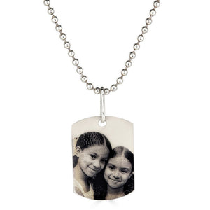 Medium Photo Dog Tag