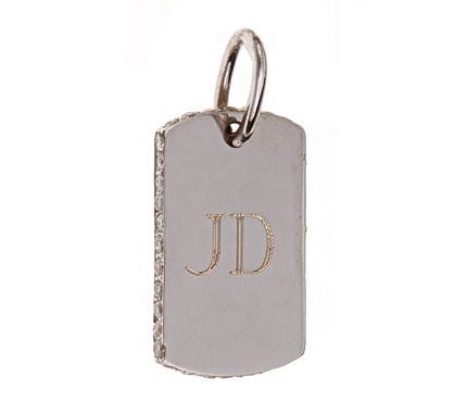 Diamond Sided Dog Tag