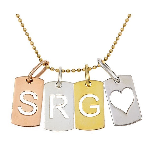 Love Letter Tag Necklace