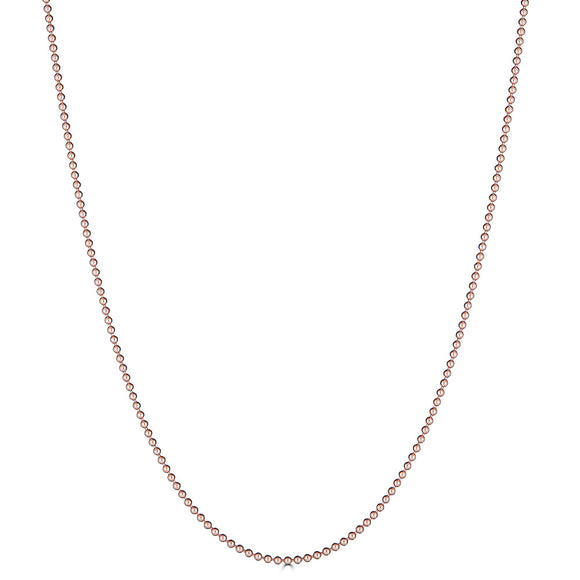 Rose Gold Ball Chain
