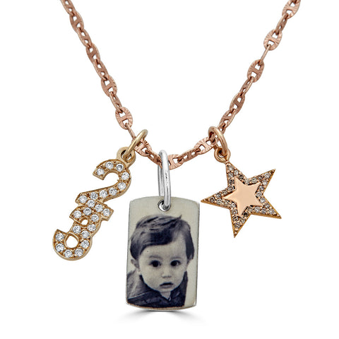 A Star is Born Charm Necklace