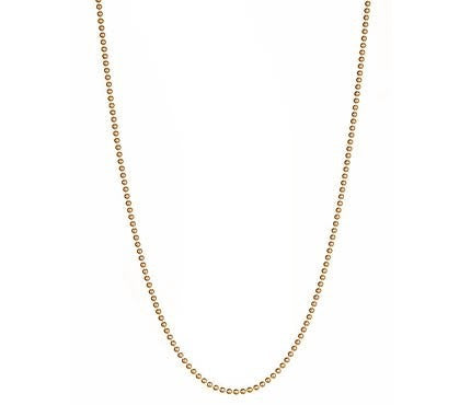 Gold Ball Chain Thin