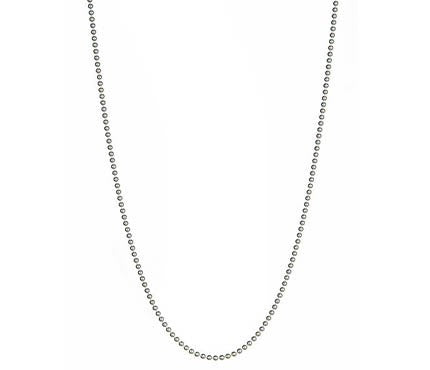 Silver Ball Chain Thin