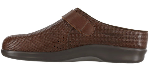 Women's Clog - Woven Brown