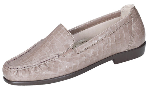 Women's Joy - Taupe Croc