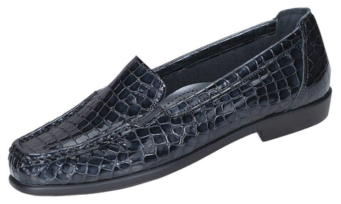 Women's Joy - Black Croc