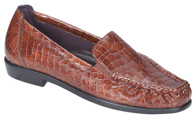 Women's Joy - Cognac Croc