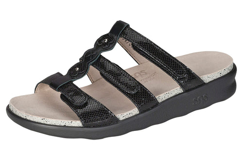 Women's Naples - Black Snake