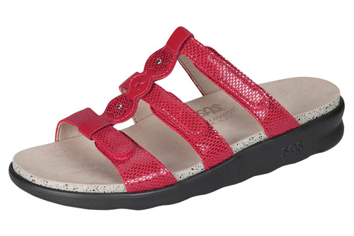 Women's Naples - Red Snake