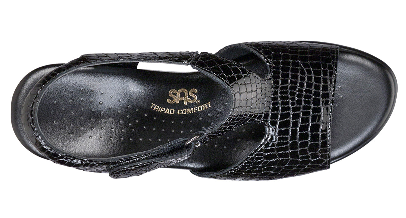 Women's Suntimer - Black Croc
