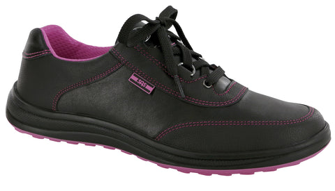Women's Sporty - Black / Pink