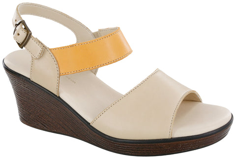 Women's Heather - Cappuccino / Orange