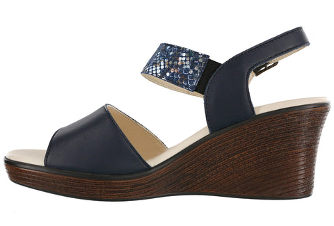 Women's Heather - Navy / Multi-snake