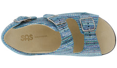Women's Relaxed - Rainbow Teal