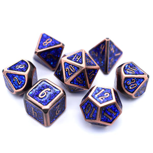 Electro Red Dice Set - Dice Envy