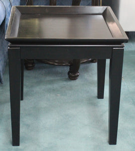 Square Wood End Table