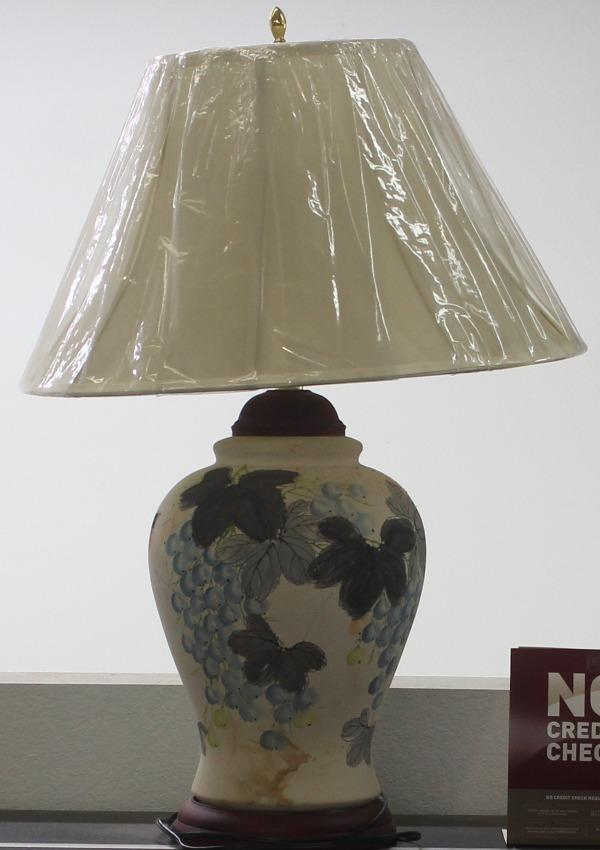 Grape Vine Lamp