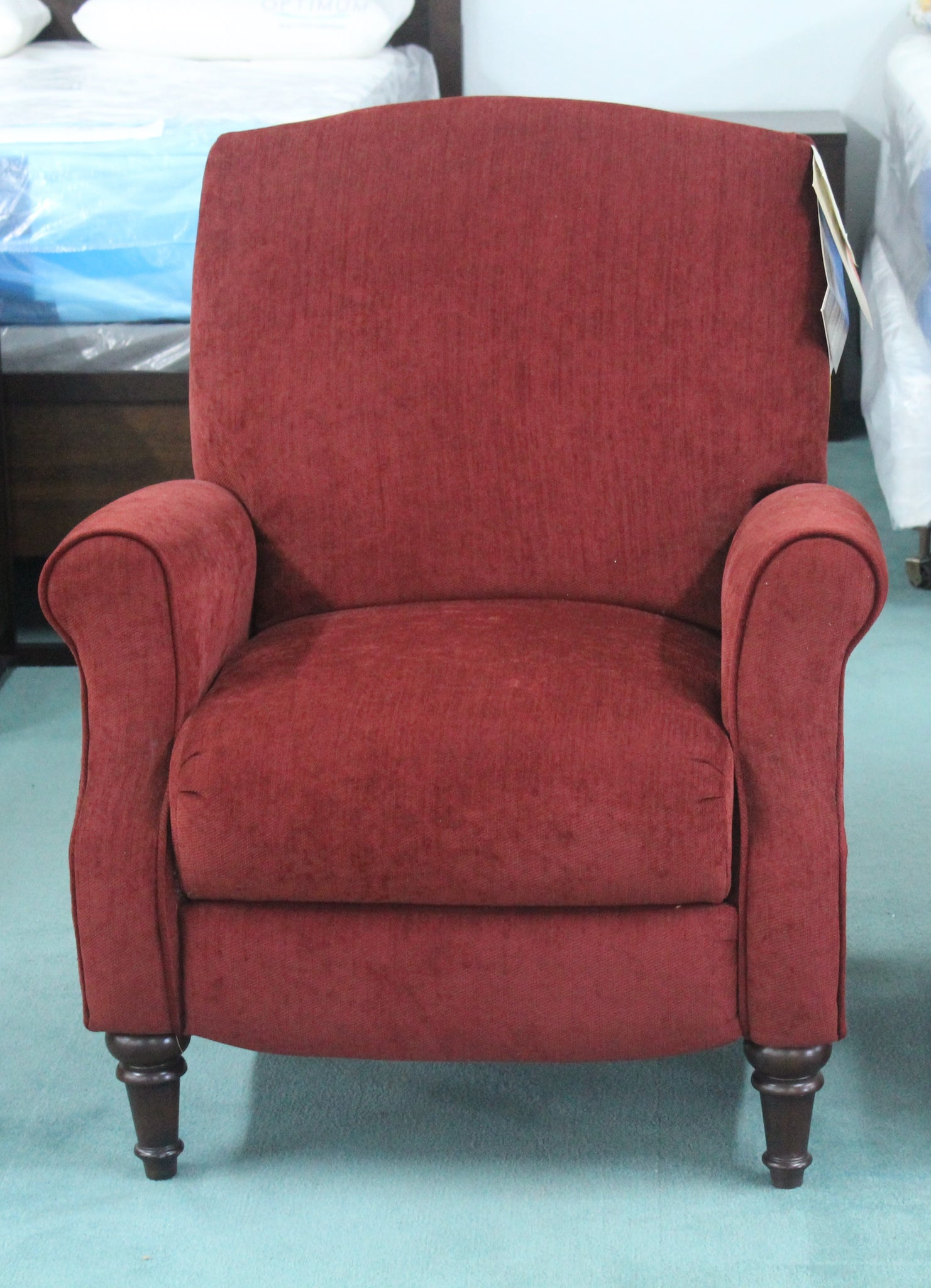 Red Push Back Chair