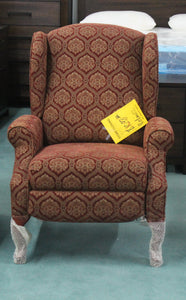 Lane Diamond  Pattern Push Back Recliner