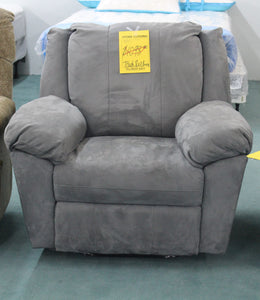 Berkline Blue Recliner CLOSEOUT