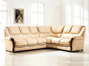 J&M Italian Leather 3 PC Sectional LAST ONE