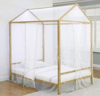 ALTADENA FULL CANOPY BED WITH LED LIGHTS
