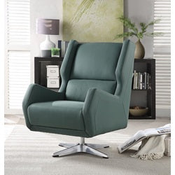 Eudora II Swivel Accent Chair