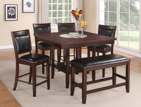 5 Pc Dinning W/ built in Lazy Susan