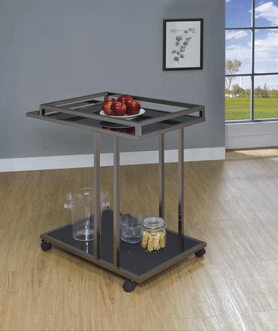 Block Serving Cart